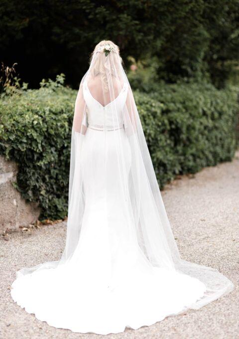 Second Hand Brautkleid   AVINIA   Meerjungfrau   Gr. 36