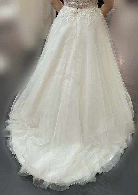 Second Hand Brautkleid | Elizabeth Passion / Mode de Pol | A-Linie | Gr. 40 | Maßgeschneidert | Neu & ungetragen