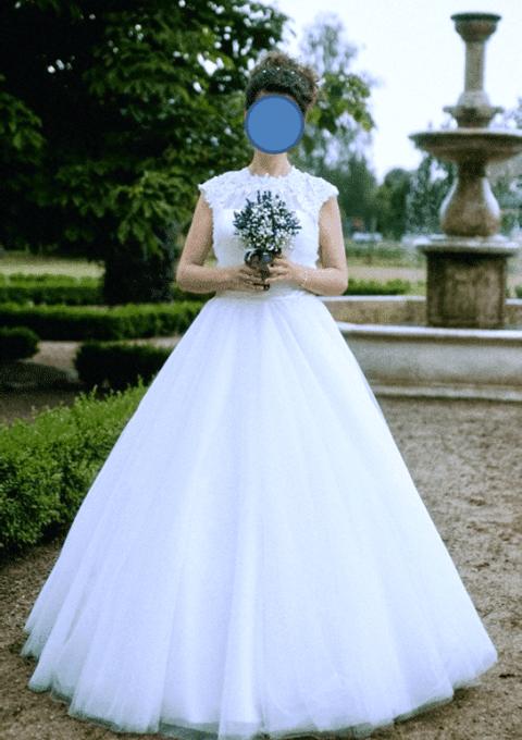 Second Hand Brautkleid | Diane Legrand | 13 EM 7 | A-Linie | Gr. 38 | Maßgeschneidert