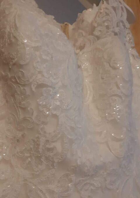 Second Hand Brautkleid | A-Linie | Gr. 46 | Neu & ungetragen