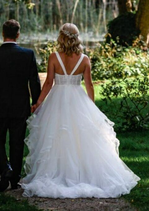 Second Hand Brautkleid | Aire Barcelona | Prinzessin | Gr. 38
