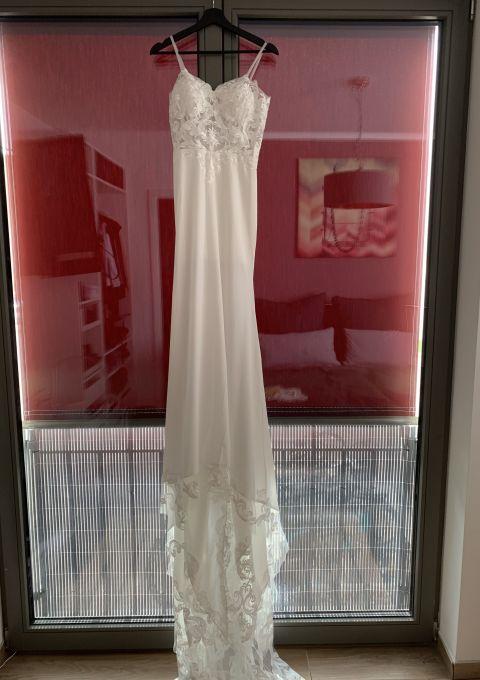 Second Hand Brautkleid | Meerjungfrau | Gr. 34 | Neu & ungetragen