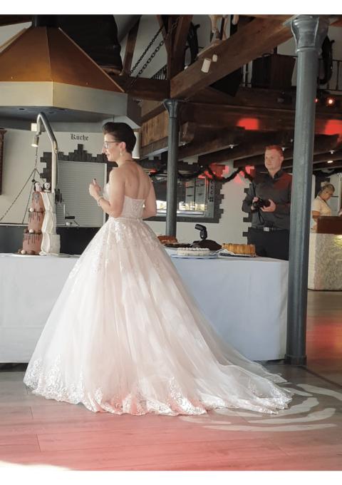 Second Hand Brautkleid | Lisa Donetti de luxe | A-Linie | Gr. 36
