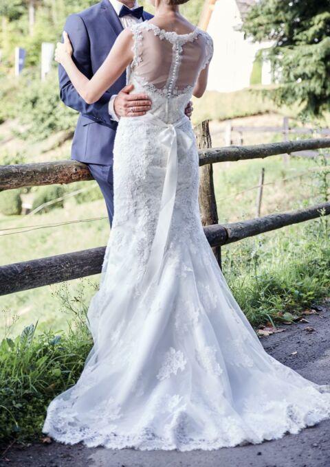 Second Hand Brautkleid | Très Chic | Meerjungfrau | Gr. 38