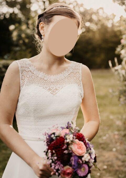 Second Hand Brautkleid | Bianco Evento | Riviera | Boho | Gr. 36