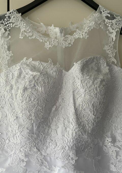 Second Hand Brautkleid | JAEDEN | Minikleid | Gr. 48 | Neu & ungetragen