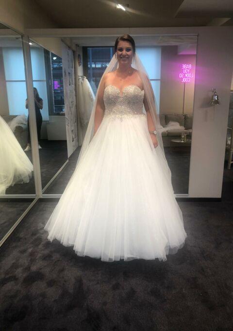 Second Hand Brautkleid | Oxford Street | Prinzessin | Gr. 48 | Neu & ungetragen