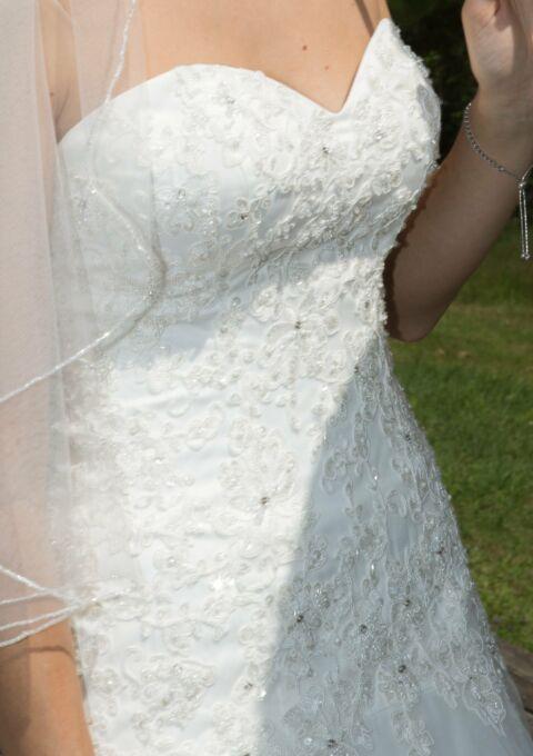 Second Hand Brautkleid | Amera Vera Einmal Prinzessin | A-Linie | Gr. 36