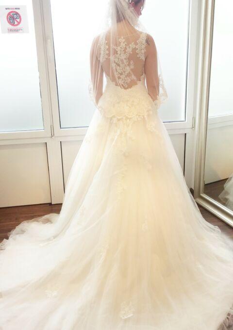 Second Hand Brautkleid | A-Linie | Gr. 36 | Maßgeschneidert