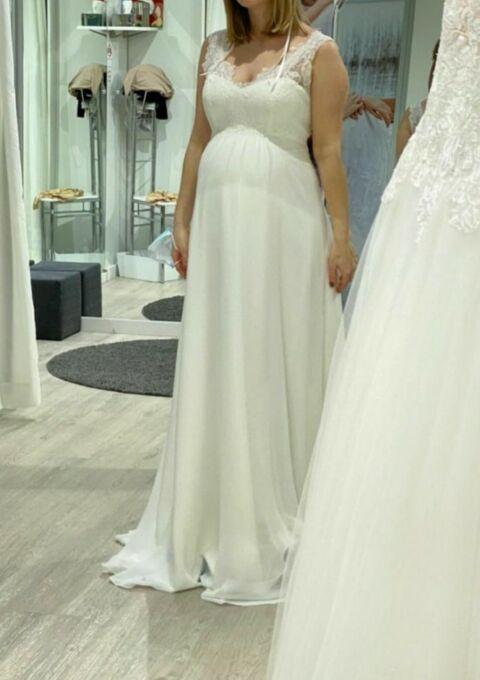 Second Hand Brautkleid | Sposa Toscana | Umstandskleid | Gr. 38 | Neu & ungetragen