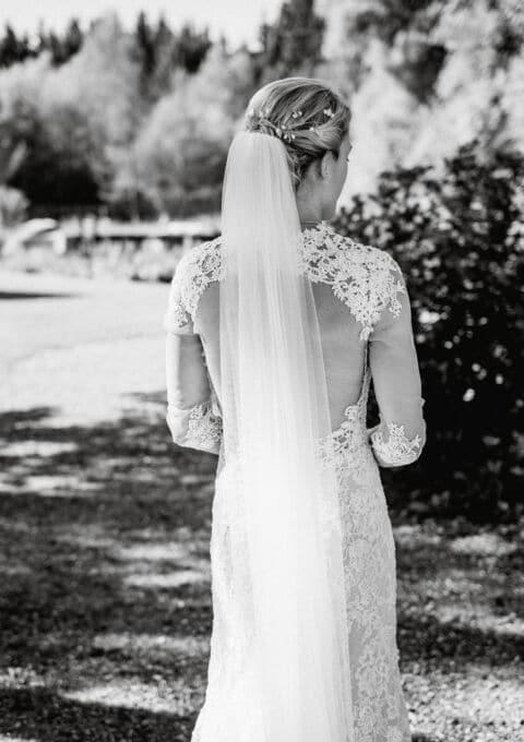 Second Hand Brautkleid   Justin Alexander   Etui   Gr. 34   Maßgeschneidert