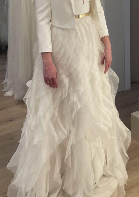 Second Hand Brautkleid   Kaviar Gauche   A-Linie   Gr. 38   Neu & ungetragen