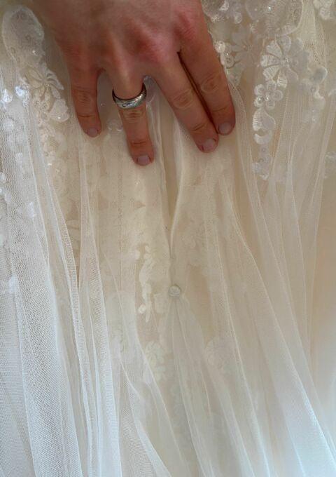 Second Hand Brautkleid | Amera Vera Einmal Prinzessin | Prinzessin | Gr. 46 | Maßgeschneidert