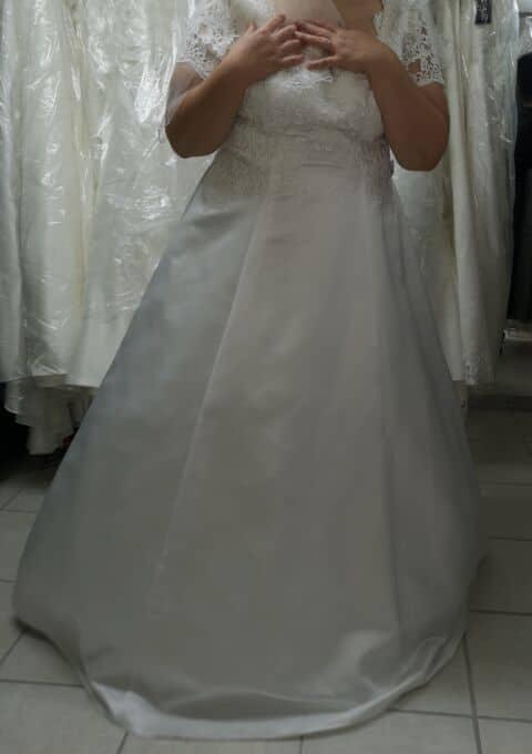 Second Hand Brautkleid | A-Linie | Gr. 50 | Neu & ungetragen