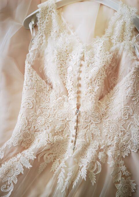 Second Hand Brautkleid   Agnes Bridal Dream / Mode de Pol   Agnes bridal dream KA-180775   A-Linie   Gr. 42   Neu & ungetragen
