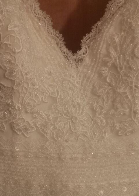 Second Hand Brautkleid   White One / St. Patrick / Pronovias   A-Linie   Gr. 36