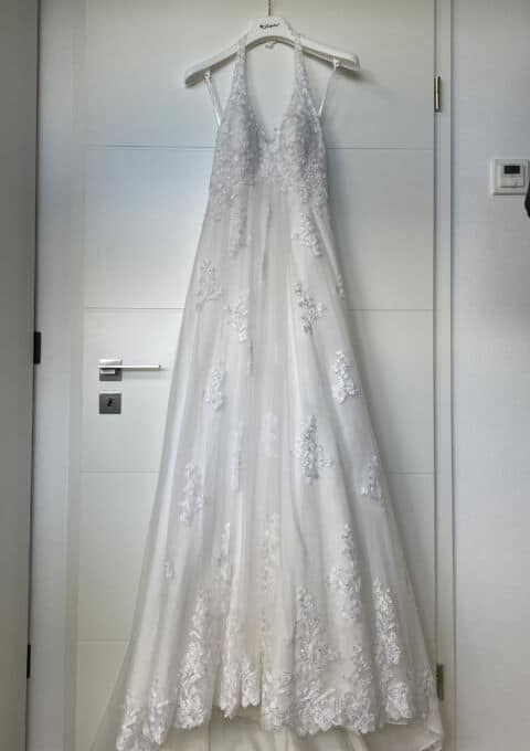 Second Hand Brautkleid   Fara Sposa   A-Linie   Gr. 38