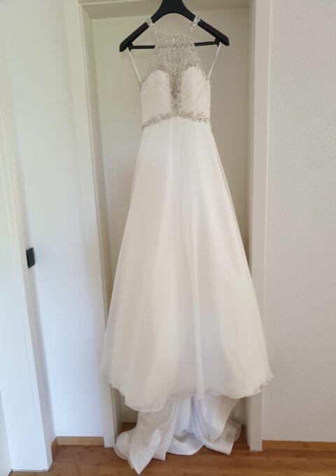 Second Hand Brautkleid   AVINIA   A-Linie   Gr. 34   Maßgeschneidert