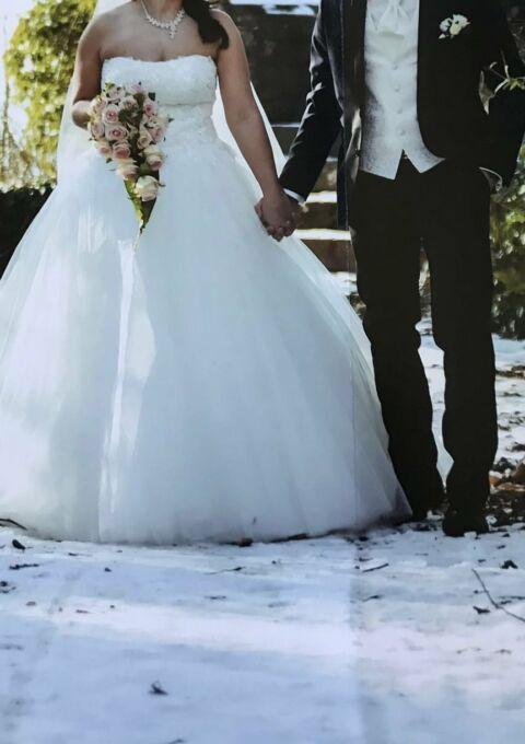 Second Hand Brautkleid   Agnes Bridal Dream / Mode de Pol   KA-14320   A-Linie   Gr. 40