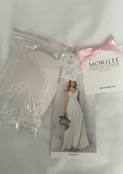 Second Hand Brautkleid | Morilee / Madeline Gardner | A-Linie | Gr. 42 | Neu & ungetragen