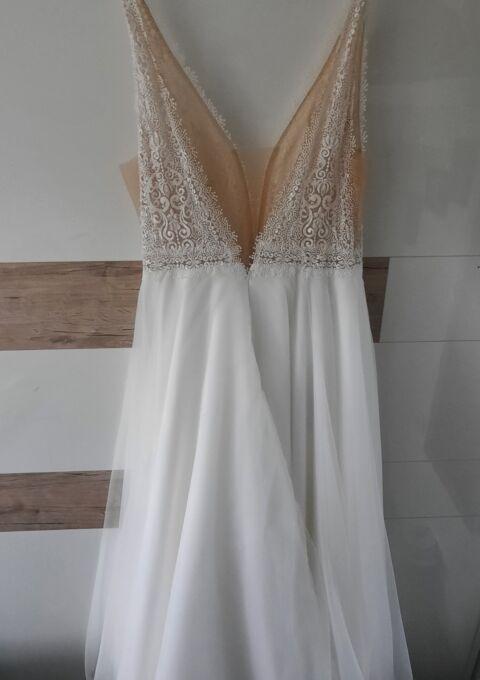 Second Hand Brautkleid   Mode de Pol   A-Linie   Gr. 40   Neu & ungetragen