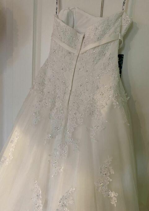 Second Hand Brautkleid | Miss Kelly / The Sposa Group | A-Linie | Gr. 36 | Maßgeschneidert