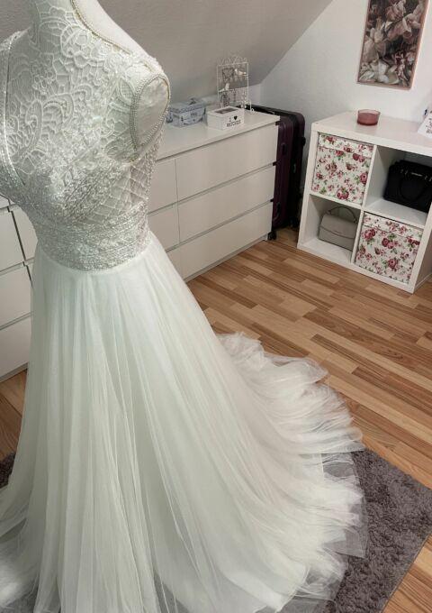 Second Hand Brautkleid | Sincerity Bridal / Justin Alexander | A-Linie | Gr. 36