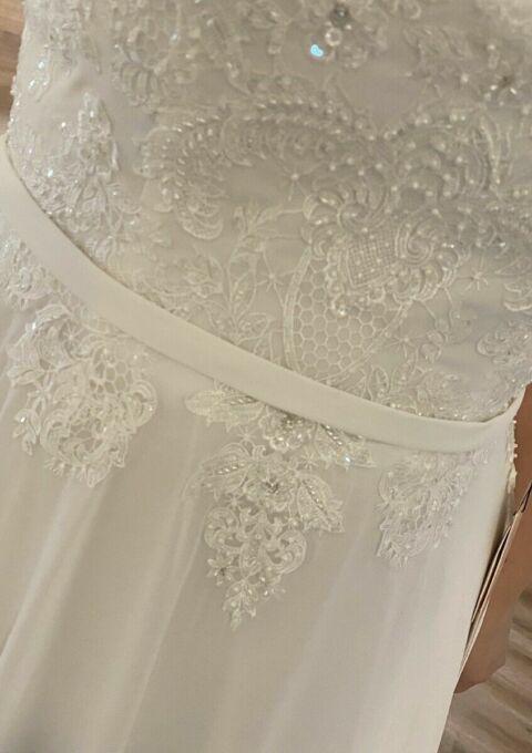 Second Hand Brautkleid | AnnAngelex | A-Linie | Gr. 46 | Neu & ungetragen