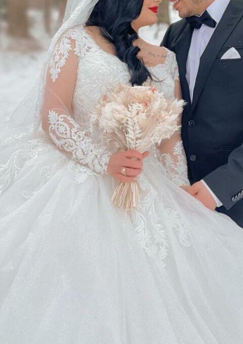 Second Hand Brautkleid | Couture | Prinzessin | Gr. 38