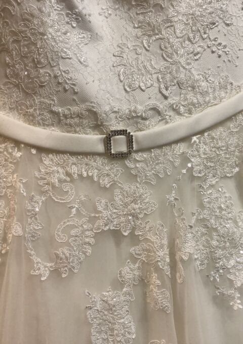 Second Hand Brautkleid | Elizabeth Passion / Mode de Pol | A-Linie | Gr. 42