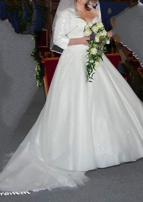 Second Hand Brautkleid   Prinzessin   Gr. 42