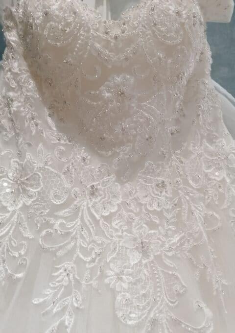 Second Hand Brautkleid | Sincerity Bridal / Justin Alexander | A-Linie | Gr. 38 | Neu & ungetragen