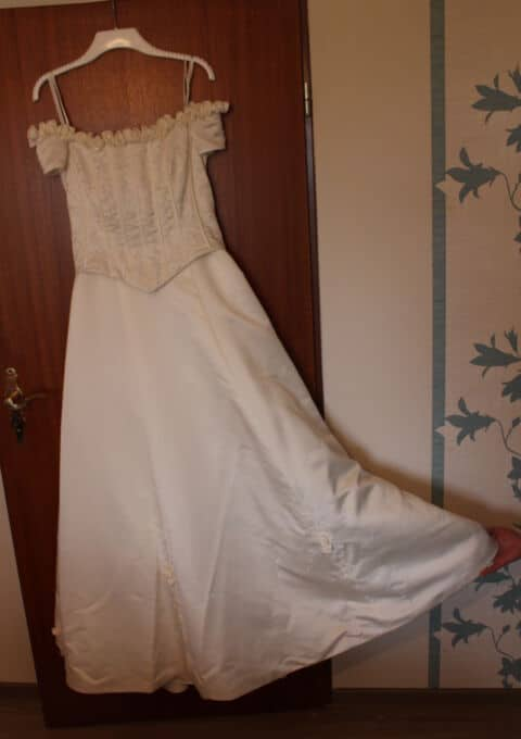 Second Hand Brautkleid | Sincerity Bridal / Justin Alexander | A-Linie | Gr. 42 | Maßgeschneidert