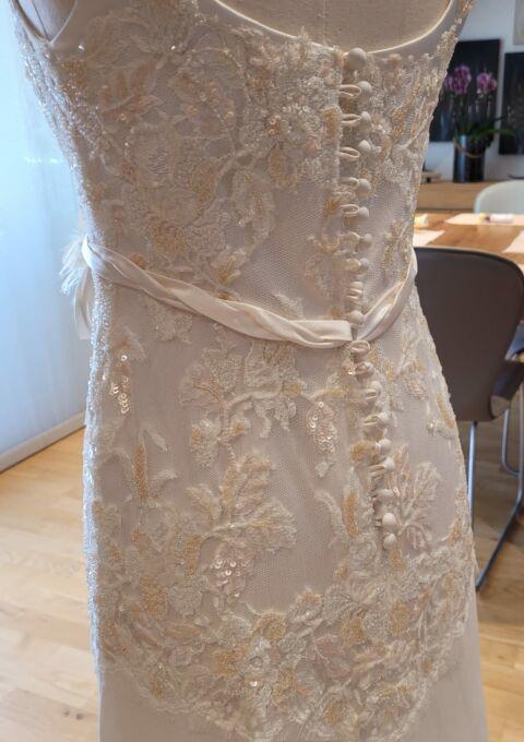 Second Hand Brautkleid | Einzelanfertigung | Meerjungfrau | Gr. 38 | Maßgeschneidert | Neu & ungetragen
