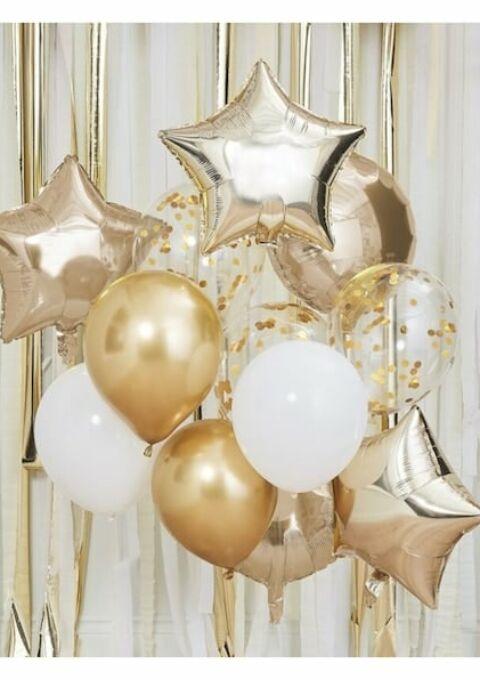 Dekoration | PrincessBalloon | Hochzeitsballons Set 12tlg.