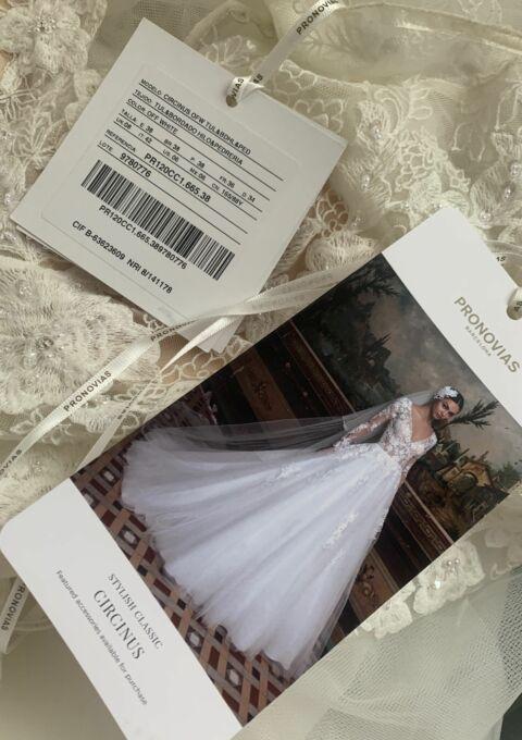 Second Hand Brautkleid | Pronovias Barcelona | Prinzessin | Gr. 34 | Neu & ungetragen