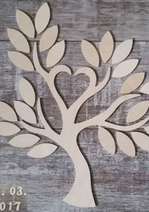 Dekoration | Traum-Ideen | Gästebuch Wedding Tree