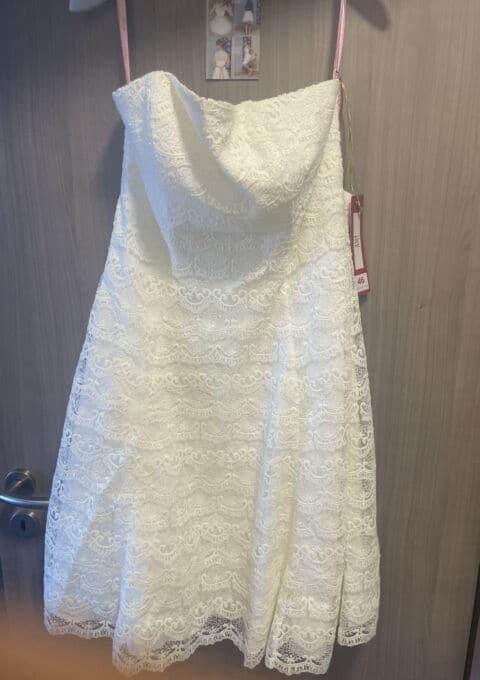 Second Hand Brautkleid | Lindegger | Amy küss die Braut | Sonstiges | Gr. 46 | Neu & ungetragen