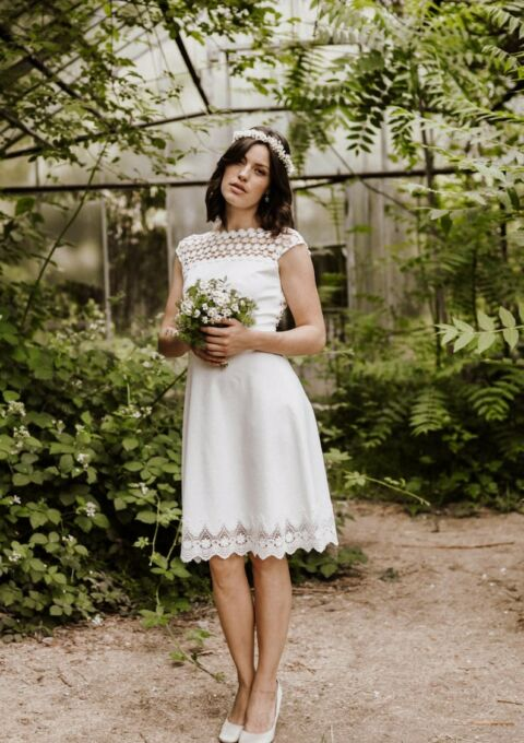 Brautkleid   ClaudiaHellerMode   Daria   Boho   Standesamt