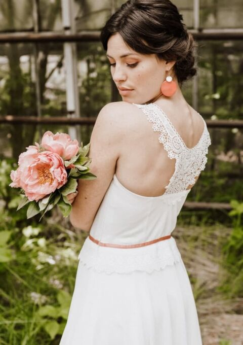Brautkleid | ClaudiaHellerMode | Lara | Boho | Standesamt
