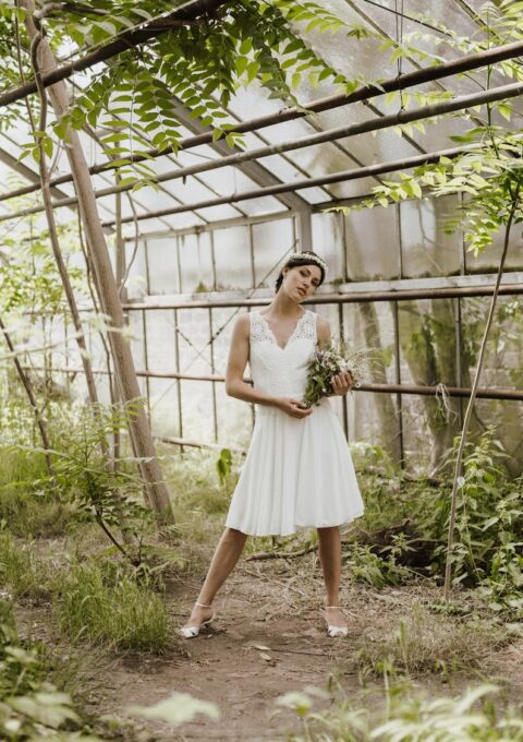 Brautkleid | ClaudiaHellerMode | Kira | Boho | Standesamt