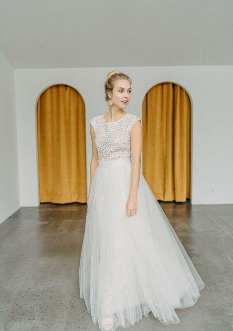 Brautkleid | ClaudiaHellerMode | Ivy | A-Linie | Standesamt