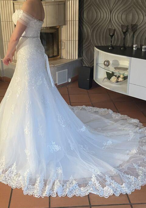 Second Hand Brautkleid | Amera Vera Einmal Prinzessin | B1916 | A-Linie | Gr. 36