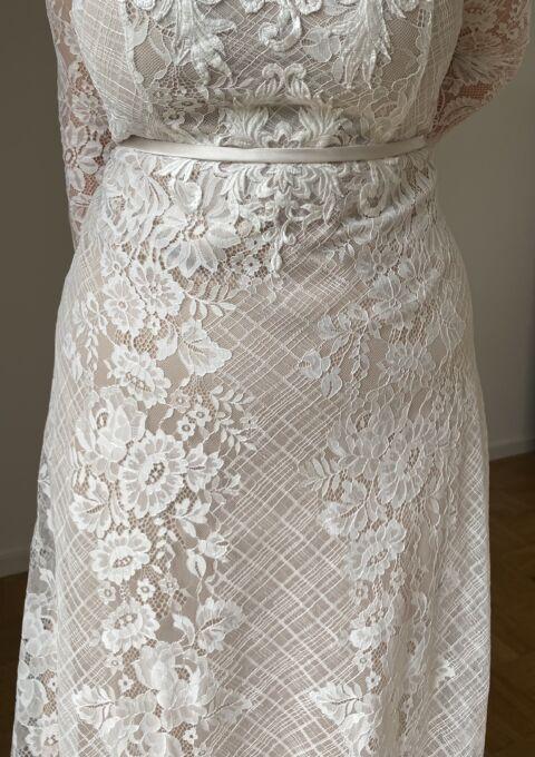 Second Hand Brautkleid | Atelier Zauberhaft | Fit and Flare | Gr. 46 | Neu & ungetragen