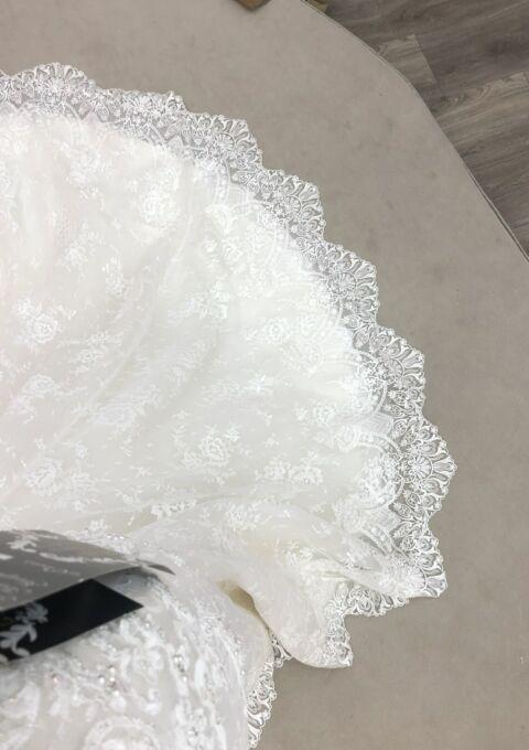 Second Hand Brautkleid | Kenneth/Winston | Fit and Flare | Gr. 40 | Neu & ungetragen