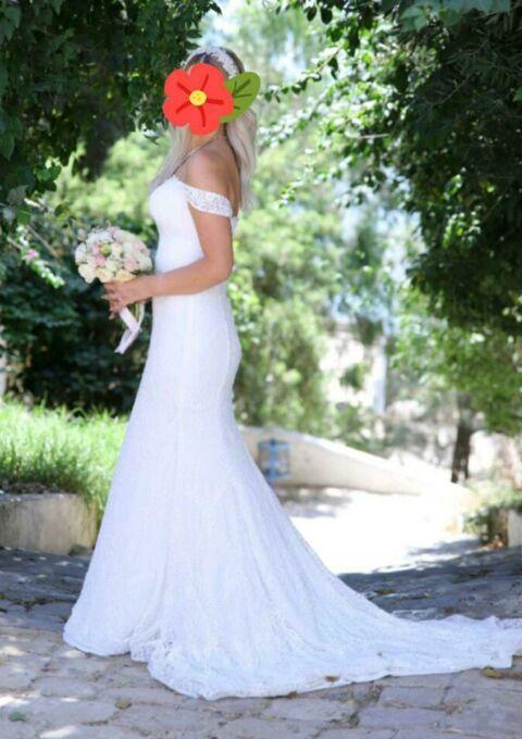 Second Hand Brautkleid | Sedinum bridal | Boho | Gr. 38 | Maßgeschneidert
