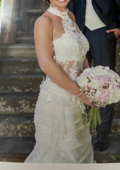 Second Hand Brautkleid   Meerjungfrau   Gr. 36