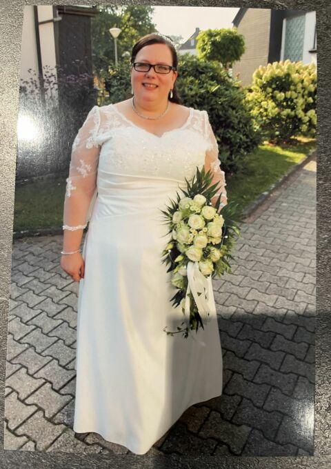 Second Hand Brautkleid | Braut-Atelier-Angelina Gelsenkirchen | A-Linie | Gr. 48 | Maßgeschneidert