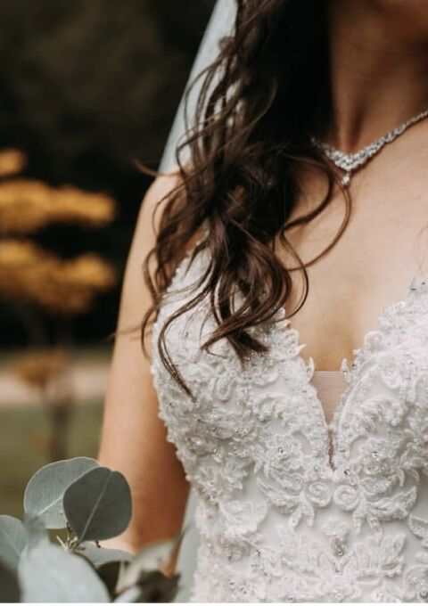 Second Hand Brautkleid   Diana Legrand   A-Linie   Gr. 36