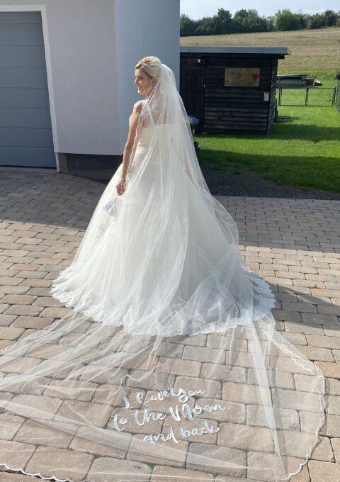 Second Hand Brautkleid | Prinzessin | Gr. 44 | Maßgeschneidert